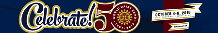 50th World Dairy Expo logo